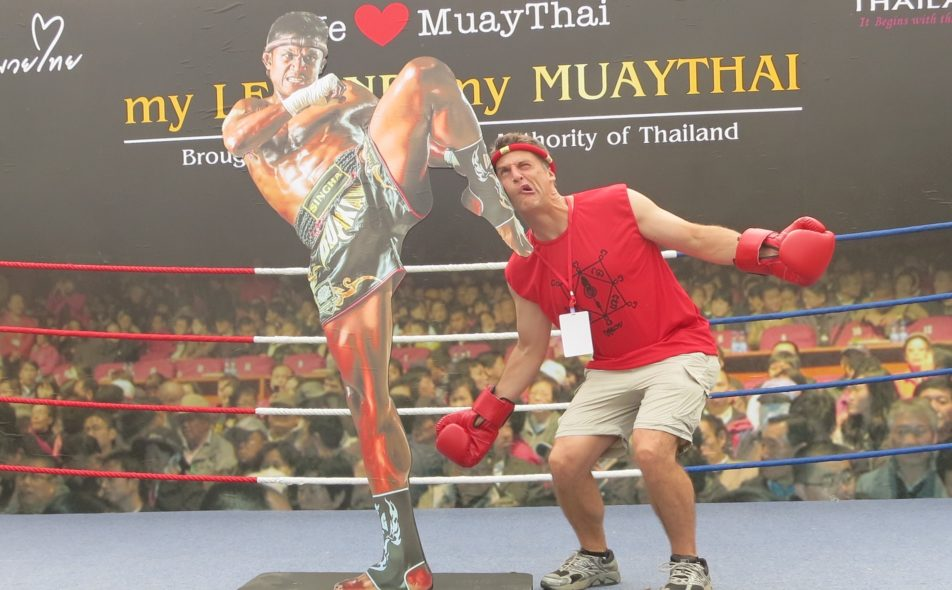 Travel Tales Podcast – Kickboxing and Swordfighting in Thailand